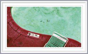 Rune Baashus 3, Norway, Pool In Santa Monica, 2008, Photo on Fineart Hanemühle Paper, 110 x 58 cm