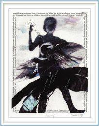Joanna Gibbs, United Kingdom, Alchemy 1, 2018, Digital Print With Stitching, 20 x 29 cm