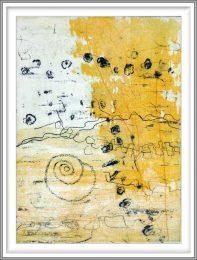 Rowena Božič 2, Slovenia, Traces, 2010, Etching, Aquatint, 34 x 25 cm