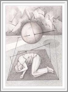 Bie Flameng 02, Belgium, Dream 2, 2017, Digital Graphic Art (Mixed Media), 13 x 9,2 cm