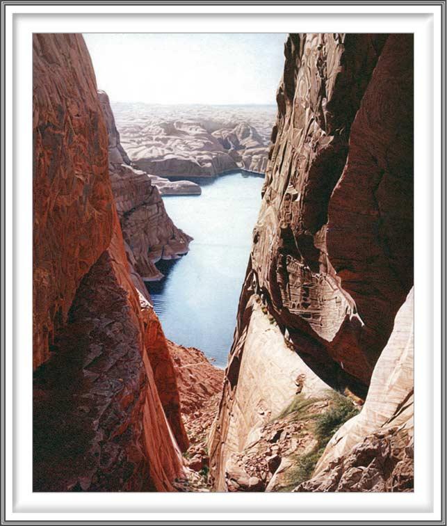 R. Geoffrey Blackburn 10, USA, Canyon Jewel, 2006, Pigment Print, 11.7 x 14 cm