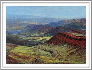 R. Geoffrey Blackburn 2, USA, Red Canyon, Lander, 2004, Pigment Print, 10.1 x 14 cm