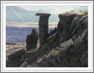 R. Geoffrey Blackburn 3, USA, Two Hawks, 2017, Pigment Print, 10.5 x 14 cm