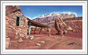 R. Geoffrey Blackburn 4, USA, Desert Rules, 2008, Pigment Print, 8.2 x 14 cm