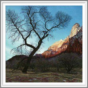 R. Geoffrey Blackburn 5, USA, Zion Dawn, 2012, Pigment Print, 14 x 14 cm