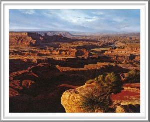 R. Geoffrey Blackburn 6, USA, Red Canyons, 2006, Pigment Print, 11 x 14 cm