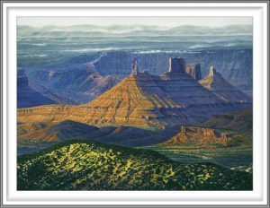 R. Geoffrey Blackburn 7, USA, Castle Tower, 2012, Pigment Print, 10.5 x 14 cm