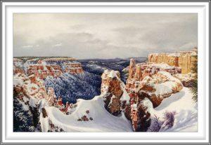 R. Geoffrey Blackburn 8, USA, Bryce Canyon, 2006, Pigment Print, 9.2 x 14 cm