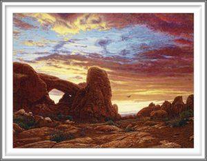 R. Geoffrey Blackburn 9, USA, Red Dawn, 2009, Pigment Print, 10.5 x 14 cm