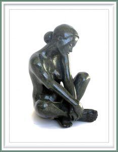 Maud du Jeu 5, France, Seule, 2015, Bronze, 20 x 13 x 13 cm