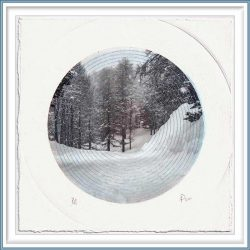 Nuria Pena 2, Spain, Inner Silence, 2020, Digital Print and Additive Eecnique, 19 x 19 cm