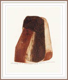 Kathie Pettersson 2, Sweden, Volcanic Rock, 2018, Etching, 9 x 11,80 cm