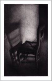 Cleo Wilkinson 2, Australia, Immured, 2010, Mezzotint,20 x12 cm