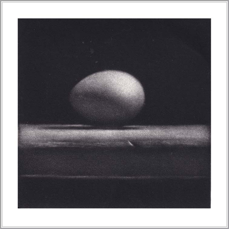 Cleo Wilkinson 20, Australia, Inception, 2011, Mezzotint,10 x 10 cm