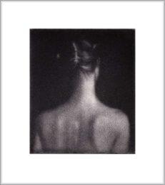 Cleo Wilkinson 6, Australia,Whisperer, 2011, Mezzotint, 5 x 6 cm