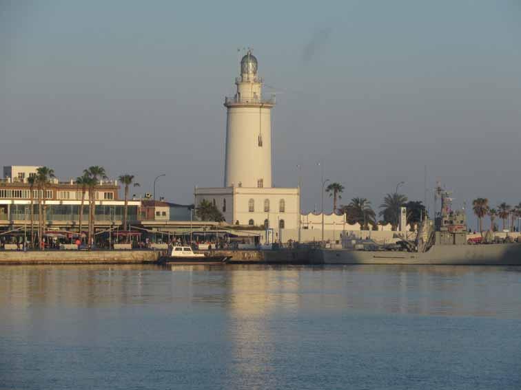 Hafenbucht von Malaga