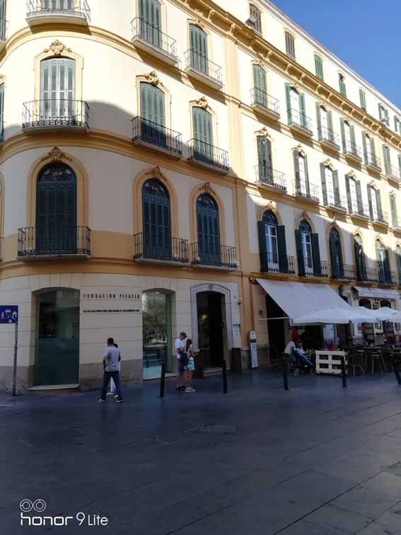 Pablo Picassos Geburtshaus in Malaga
