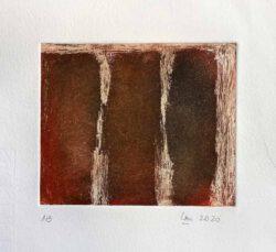 Claudina Marques Coelho Lau, Portugal, 2020, aquatint, aquaforte, 23 x 20 cm
