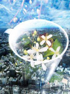 Hiromi Kawano, Japan, Wishing For City, 2020, digital art (photography / multiple exposure), 21 x 29,7 cm