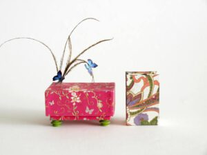 Mary Kritz, Canada, Butterfly Landscapes, 2012, artist book, 4,3 x 2,8 x 2 cm