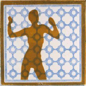 Peter Kadrmas, Spain, Beschränkung, 2020, Linoleum, 10 x 10 cm