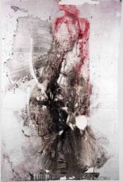 Gro Folkan, Norway, Lillith, 2017, acrylic on canvas, 150 x 100 cm