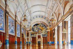 Herbert Hermans, Netherlands, Civil Hall Town Hall Rotterdam, 2020, oil on canvas, 120 x 80 cm