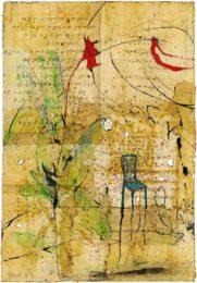 Hyun-JIN Kim, Taiwan, Poem#3, 2019, mixed media, 20 x 28,7 cm