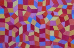 Josip Rubes, Croatia, Composition, 2020, oil on canvas, 20 x 29 cm