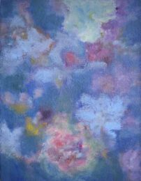 Kazuko Misawa, Japan, NATURE, 2021, oil on paper, 49 x 37,5 cm