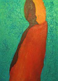 Michal Ashkenasi, Israel, Gaya , Earth Mother, 2019, acrylic on canvas, 60 x 80 cm