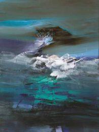 Patricia Karen Gagic, Canada, Escape To Reality, 2019, acrylic on canvas, 76 x 100 cm