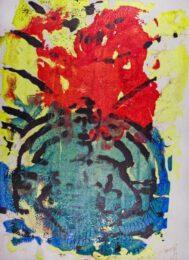 Peter Kadrmas. Spain, Leonore Overture Nr.3, 2019, Siebdruck, 20 x 28 cm