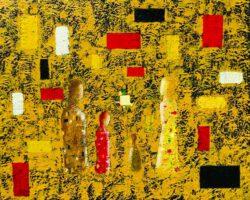 Svetlana Nelson, USA, Us, 2020, oil on canvas, 61 x 76 cm