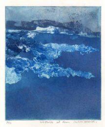 Takanori Iwase, Japan, Wetland Dawn, 2009, etching, 17 x 20 cm