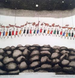 Carla Kleekamp, The Netherlands, Memorial Day In The Moonlight, 2010, Nr.26/30, 30 x 30 cm