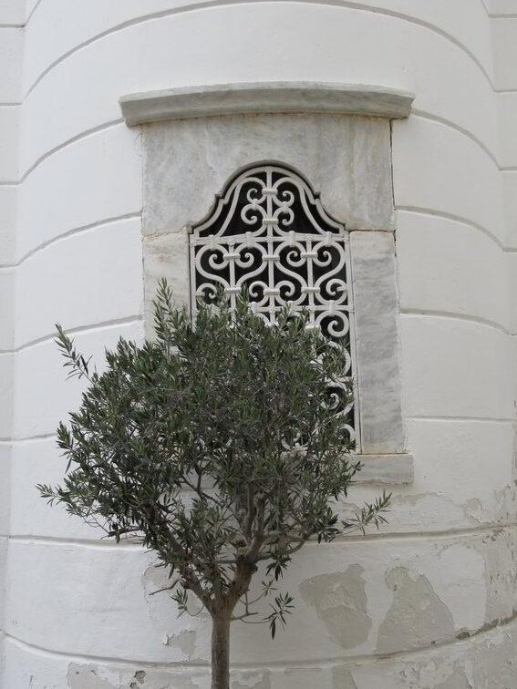 Apsis eines Gotteshauses in der Altstadt von Nafplion (Nauplia)